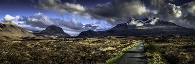 Glen Etive Panorama 3 art print by Duncan for $41.25 CAD