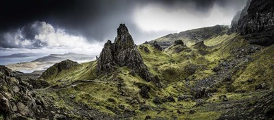 Old Man Of Storr Panorama art print by Duncan for $48.75 CAD