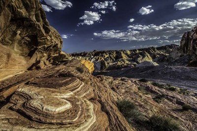 Valley Of Fire art print by Duncan for $43.75 CAD