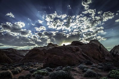 Valley Of Fire 2 art print by Duncan for $43.75 CAD