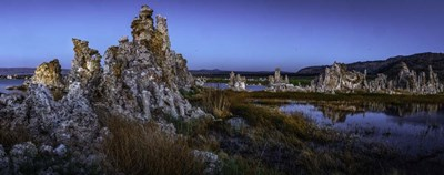 Mono Lake Twilight Crop art print by Duncan for $45.00 CAD
