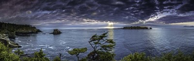 Cape Flattery Island Sunset art print by Duncan for $40.00 CAD