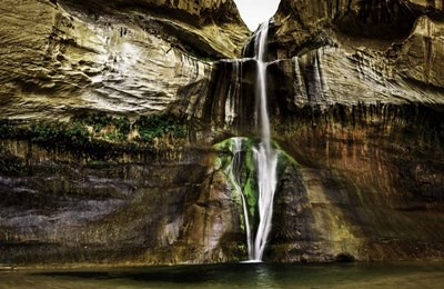 Calf Creek Falls art print by Duncan for $43.75 CAD
