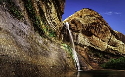 Calf Creek Falls 2 art print by Duncan for $42.50 CAD
