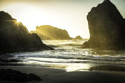 Bandon Beach 2 art print by Duncan for $43.75 CAD
