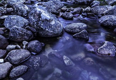 River Rocks 3 art print by Duncan for $45.00 CAD