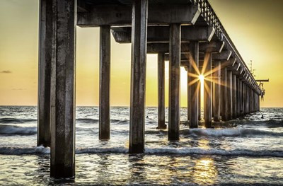 Cali Pier 2 art print by Duncan for $43.75 CAD