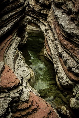 Layered Slot Canyon 2 art print by Duncan for $43.75 CAD