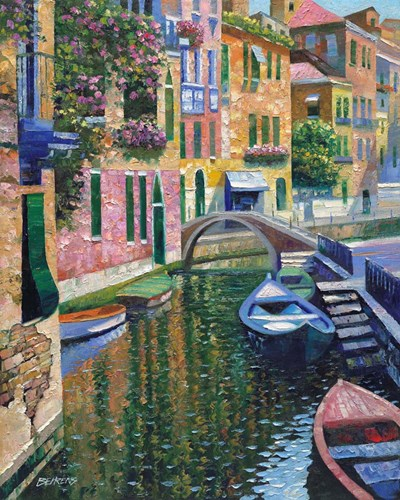 Romantic Canal art print by Howard Behrens for $56.25 CAD