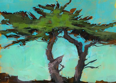 Cypresses art print by Paul Bailey for $65.00 CAD