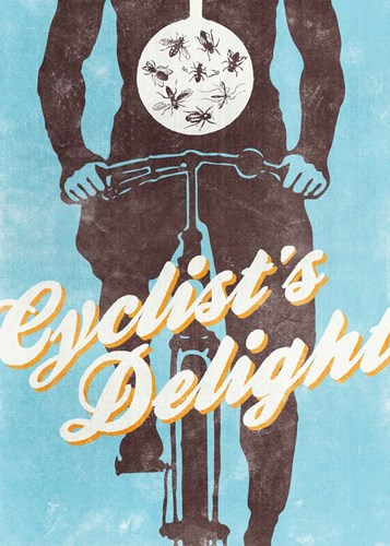 Cyclist's Delight art print by Hannes Beer for $55.00 CAD