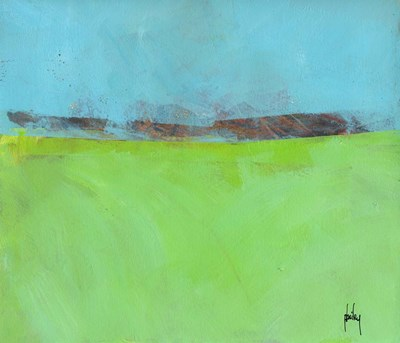 Low Distant Hills art print by Paul Bailey for $72.50 CAD