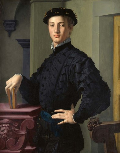 Portrait of a Young Man art print by Agnolo Bronzino for $40.00 CAD