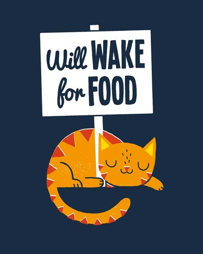 Will Wake for Food art print by Michael Buxton for $40.00 CAD