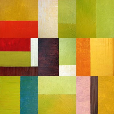 Color Study Abstract 2 art print by Michelle Calkins for $56.25 CAD