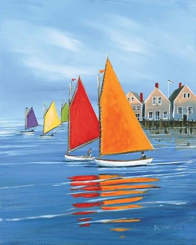 Mariner's Landing art print by Sally Caldwell-Fisher for $40.00 CAD