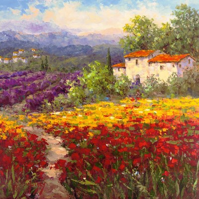 Fleur du Pays II art print by Hulsey for $56.25 CAD