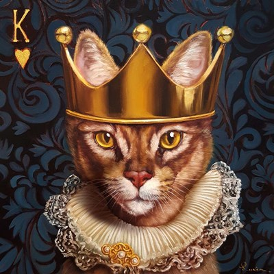 King of Hearts art print by Lucia Heffernan for $56.25 CAD