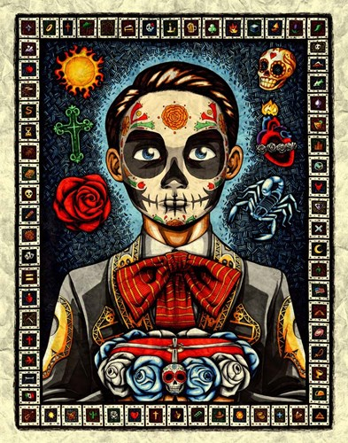 Muerto art print by Nicholas Ivins for $40.00 CAD