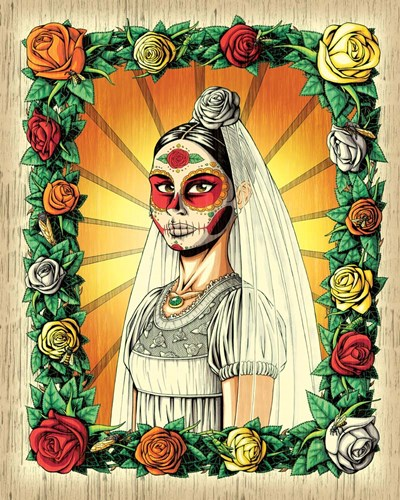 Muerta Bride art print by Nicholas Ivins for $40.00 CAD
