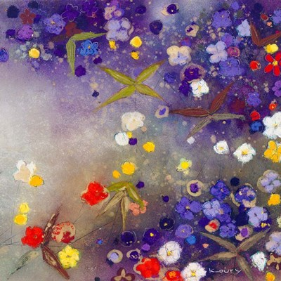Gardens in the Mist X art print by Aleah Koury for $56.25 CAD