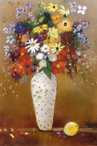 After Redon art print by Aleah Koury for $43.75 CAD
