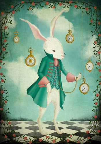 The White Rabbit art print by Maja Lindberg for $42.50 CAD