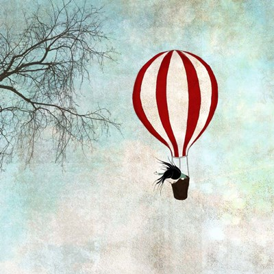 Up in the Air art print by Maja Lindberg for $56.25 CAD