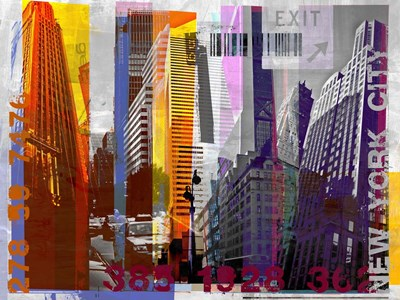 New York Sky Urban art print by Sven Pfrommer for $67.50 CAD