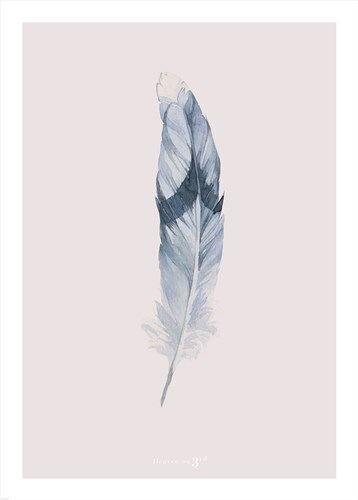 Pink Feather art print by Heaven on 3rd for $42.50 CAD