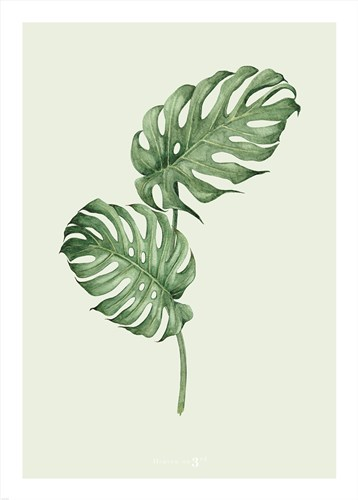 Leaf Green art print by Heaven on 3rd for $42.50 CAD
