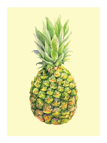 Pinapple art print by Heaven on 3rd for $41.25 CAD