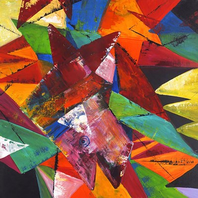 Abstract Geo 2 art print by Claudia for $80.00 CAD