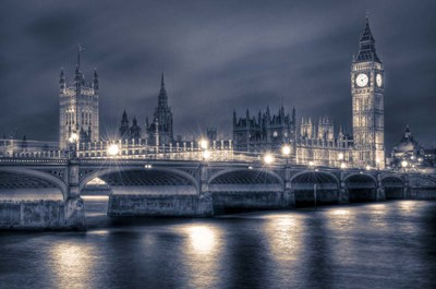 The Houses of Parliament at Night art print by Nick Jackson for $43.75 CAD