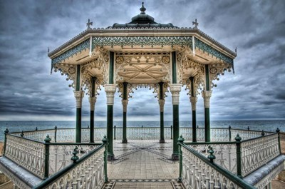 Brighton Bandstand art print by Nick Jackson for $43.75 CAD