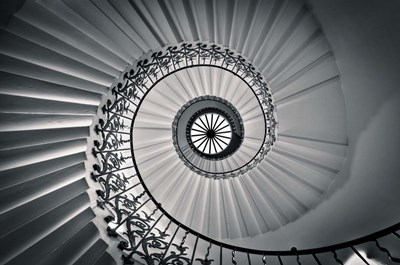 The Tulip Staircase art print by Nick Jackson for $43.75 CAD