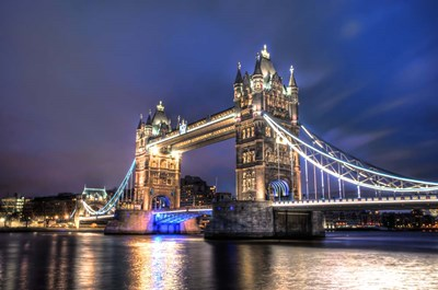 Tower Bridge at Night art print by Nick Jackson for $43.75 CAD