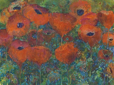 Poppies art print by Tara Funk Grim for $41.25 CAD