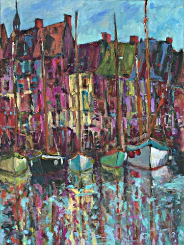 Honfleur art print by Tara Funk Grim for $41.25 CAD