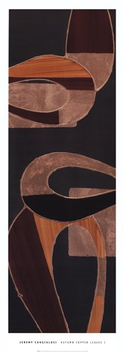 Autumn Copper Leaves I art print by Jeremy Cangialosi for $31.25 CAD