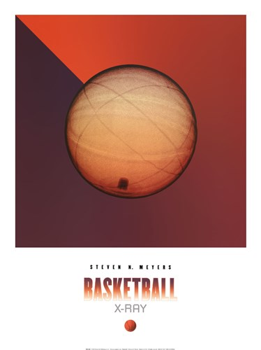 Basketball X-Ray art print by Steven N. Meyers for $31.25 CAD