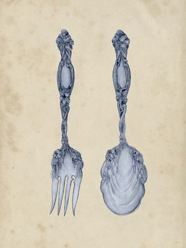 Antique Utensils II art print by Melissa Wang for $81.25 CAD