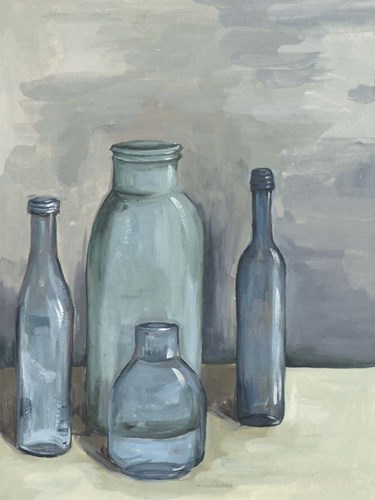 Still Life with Bottles I art print by Melissa Wang for $133.75 CAD