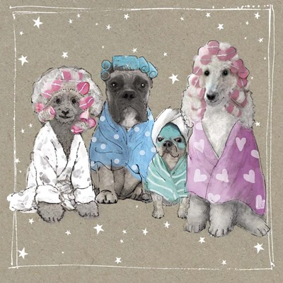 Fancypants Wacky Dogs I art print by Hammond Gower for $68.75 CAD