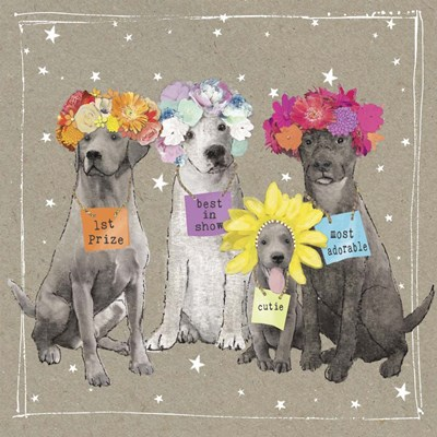 Fancypants Wacky Dogs V art print by Hammond Gower for $68.75 CAD