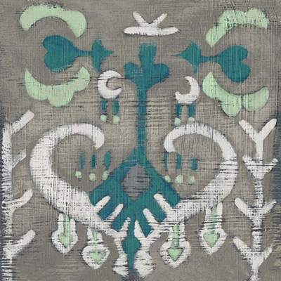 Teal Tapestry I art print by Chariklia Zarris for $112.50 CAD
