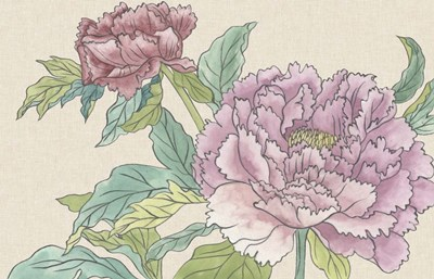 Peony Blooms I art print by Melissa Wang for $146.25 CAD