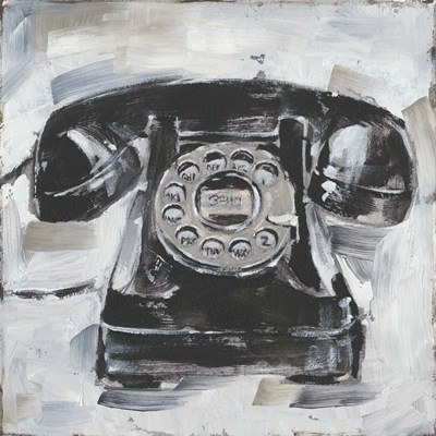 Retro Phone I art print by Ethan Harper for $53.75 CAD