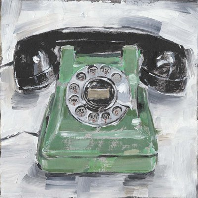 Retro Phone III art print by Ethan Harper for $53.75 CAD