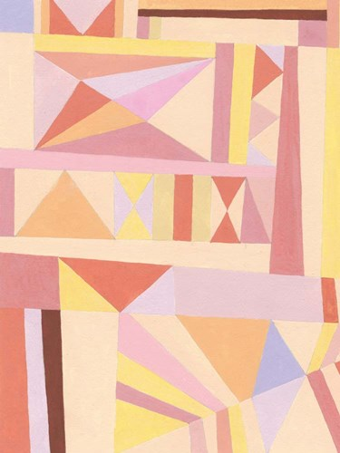 Blush Structure I art print by Nikki Galapon for $63.75 CAD